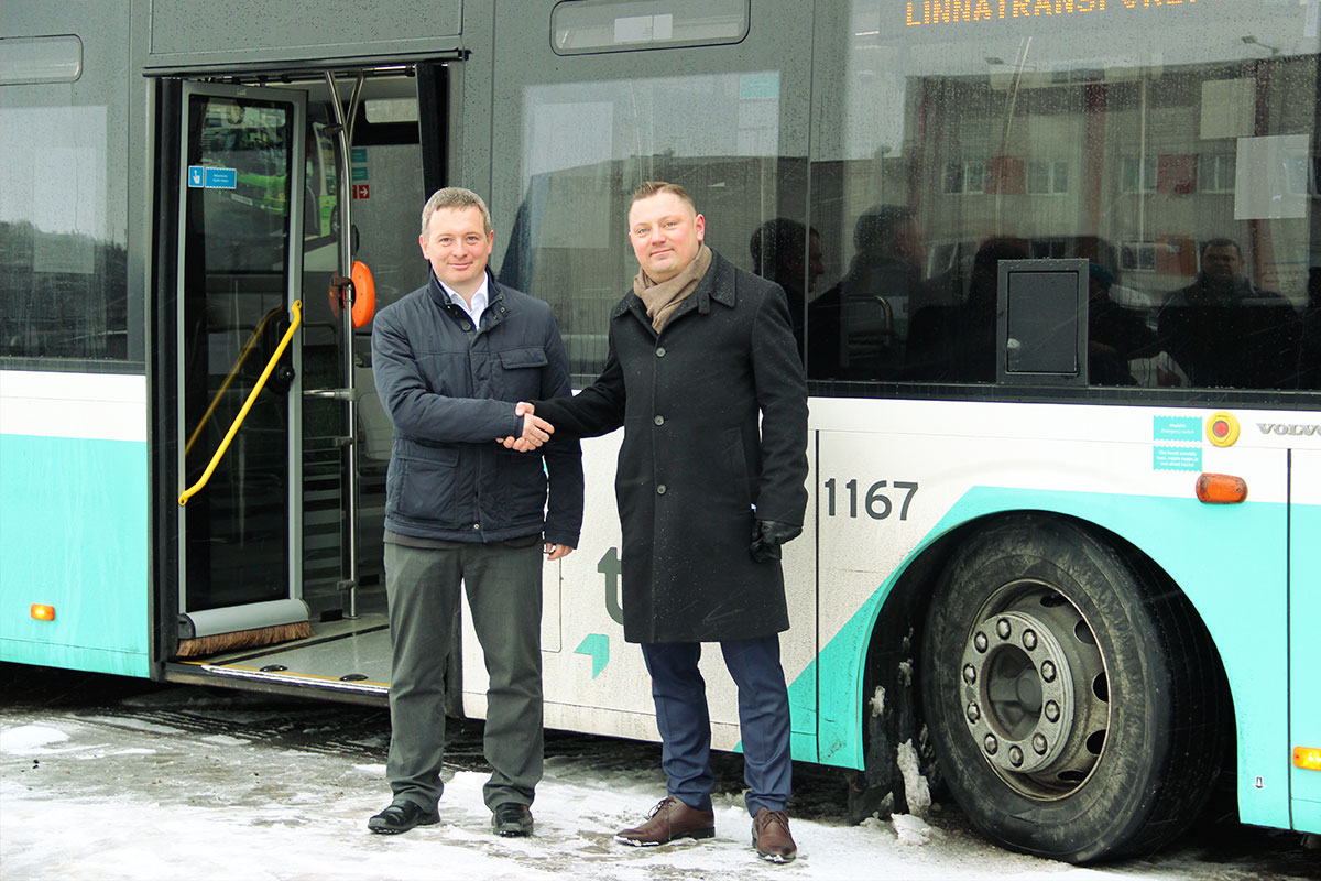 Eesti Energia and Tallinna Linnatranspordi AS are starting to develop electric transport together